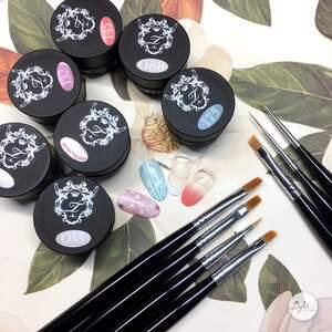 ▩美甲彩绘▩ Tiara熊野美甲笔介绍应用-Tiara Nail & Eyelash 日式专业美甲美睫品牌