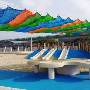 2017全新改建 台北市大佳河滨公园 共融式游戏场 儿童游乐设施 沙坑、溜滑梯、荡鞦韆(免费亲子景点)