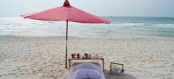 戀戀蘇梅,一個人的海灘早餐,也能很彭派~