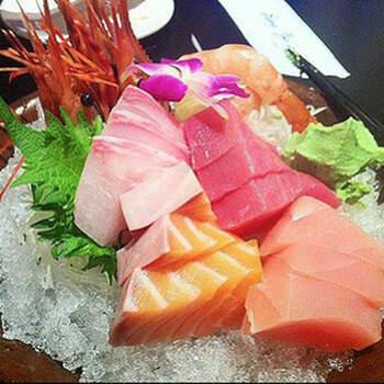 在地人讚不絕口~季節料理~超厚實生魚片