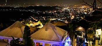 陽明山。The Top 屋頂上,兩人的浪漫
