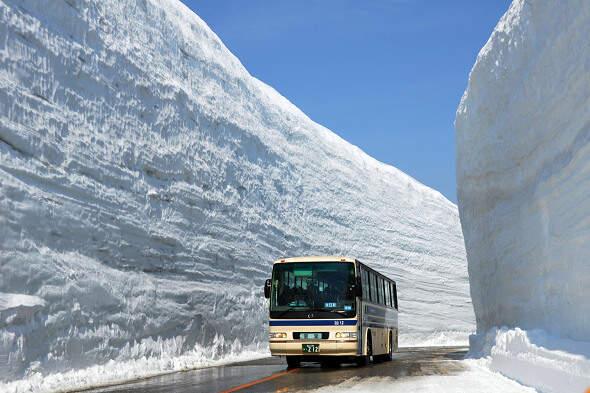 出國賞雪景別害怕,第一次自助去立山黑部就上手!