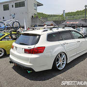 Tuning example: Acura TSX Sports Wagon改裝範例