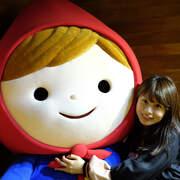 台北華山「小紅帽特展」加藤真治 Shinzi Katoh 45週年插畫展 夢幻的童話世界 情人節約會 親子活動 閨蜜外拍都很適合